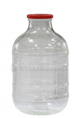 Бутыль 10,0л (100) ТВИСТ прозрачный