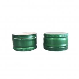 Алюминиевый колпачок 28*18 зеленый