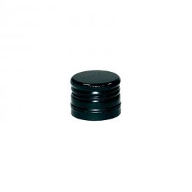 Алюминиевый колпачок 31.5*24 черный