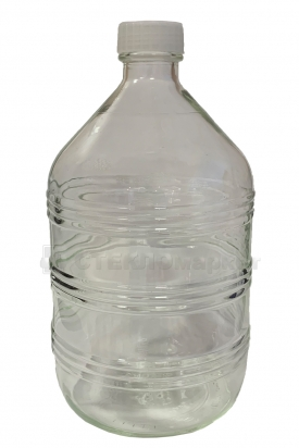 Бутыль 10,0л Казацкий прозрачный