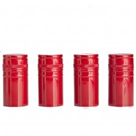 Алюминиевый колпачок 28*44 красный