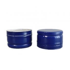 Алюминиевый колпачок 28*18 синий