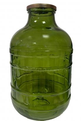 Бутыль 10,0л (100) ТВИСТ зеленый