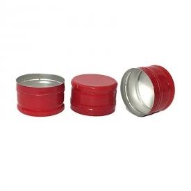 Алюминиевый колпачок 28*18 красный