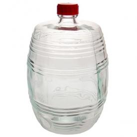 Бутыль 10,0л Бочонок прозрачный